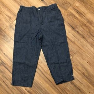 Chico's Capri Pants Size 0.5 (6)